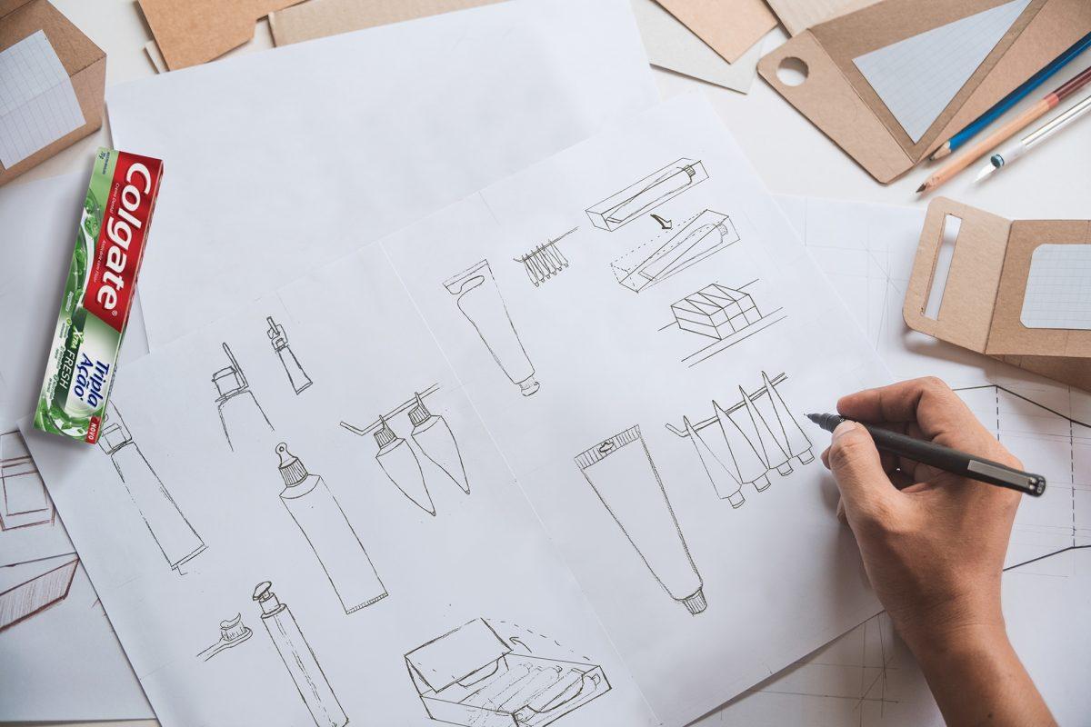 1d5efb77361101.5e15faeab598e scaled - Designer cria embalagem sustentável para pasta de dentes pensando fora da caixa