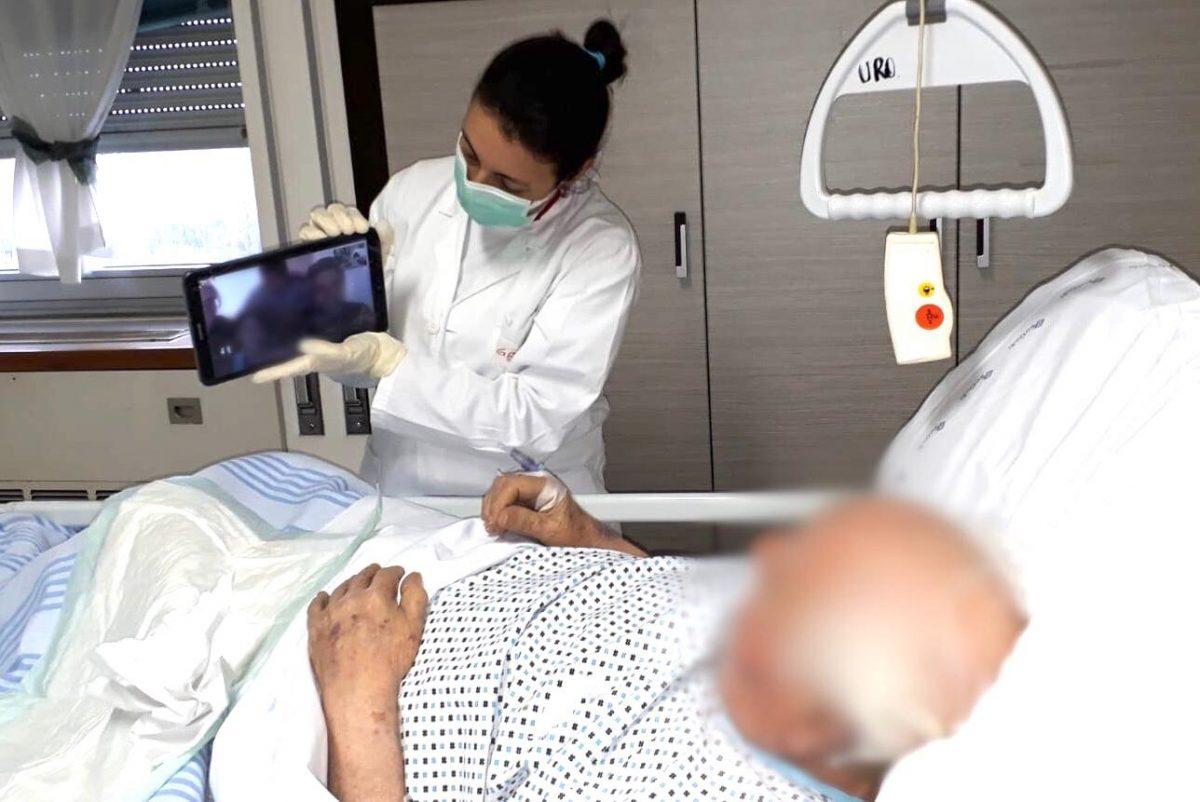90736589 10218927689115604 4871415180581404672 o scaled - Campanha na Itália permite que pacientes terminais com covid-19 se despeçam de seus familiares