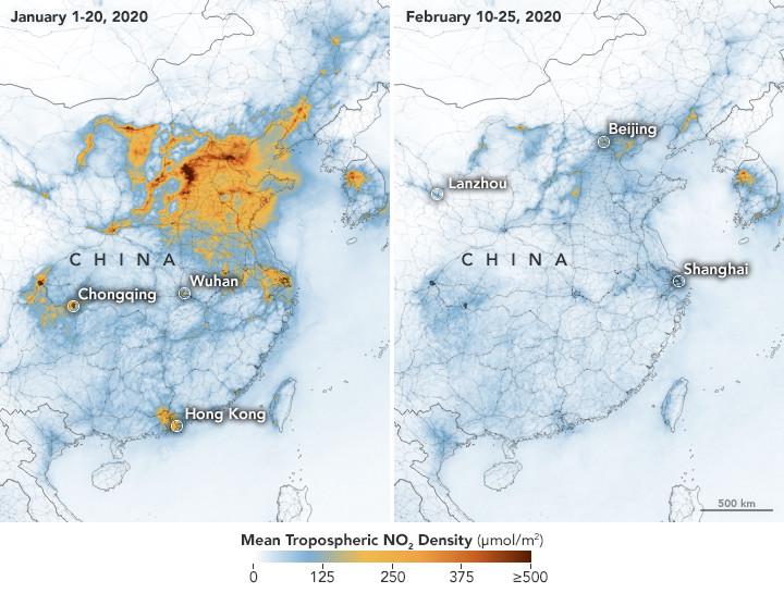 china trop 2020056 - Enquanto a humanidade está em quarentena, o Planeta Terra se restabelece!
