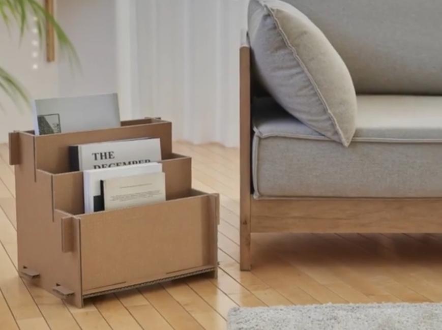 2020 04 22 - Caixas de TV sustentáveis da Samsung podem se transformar em casinha de gato e outros móveis