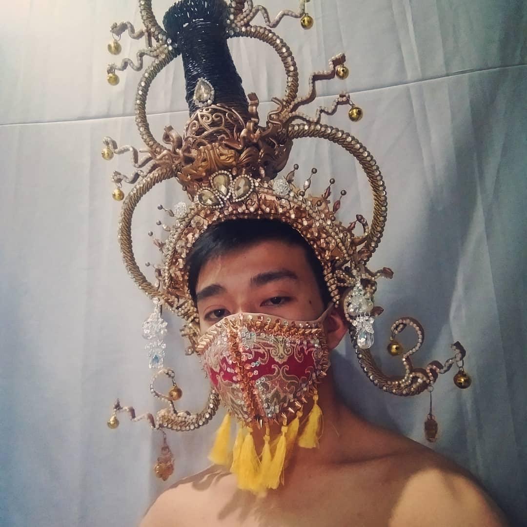 91405018 3833505456667164 2609544420018524884 - Pessoas mostram máscaras criativas para usar durante a pandemia