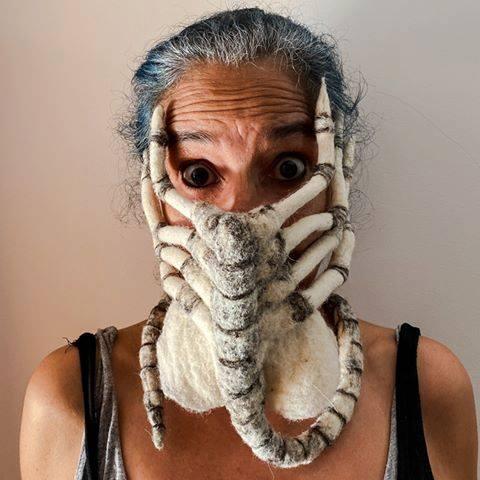 91498579 3732834780123679 2185112019689013248 n - Pessoas mostram máscaras criativas para usar durante a pandemia
