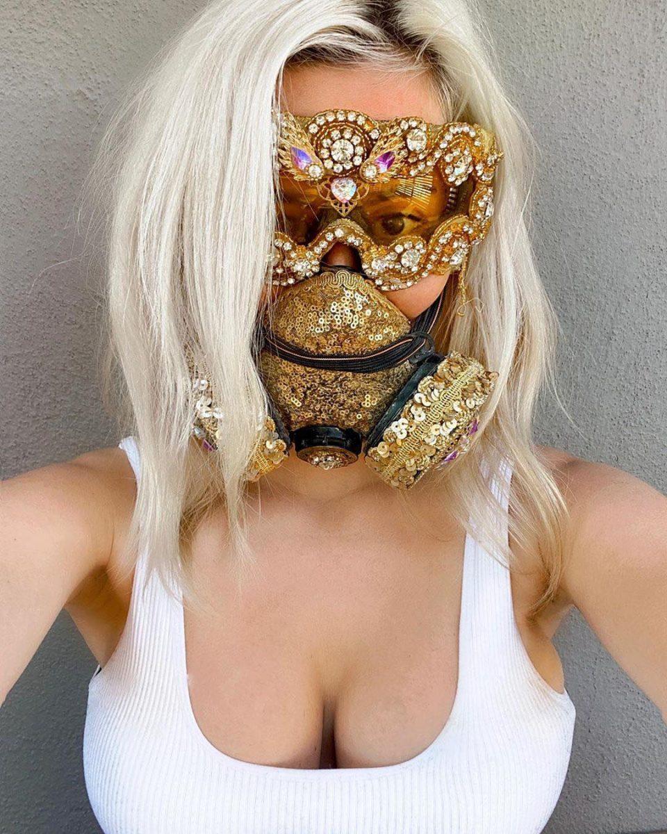 92202375 216236156276203 1350754004206503922 n scaled - Pessoas mostram máscaras criativas para usar durante a pandemia