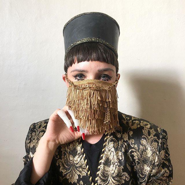 92640738 173572217041446 7681551478636500348 n - Pessoas mostram máscaras criativas para usar durante a pandemia
