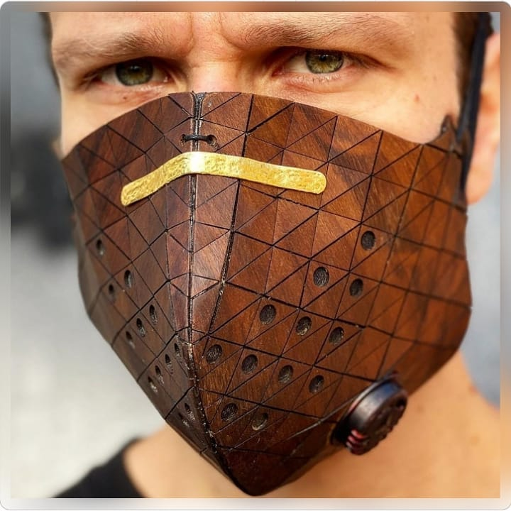 92683531 2789286117860388 73138247807408 - Pessoas mostram máscaras criativas para usar durante a pandemia