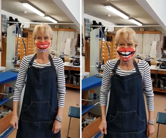 Imagem - Pessoas mostram máscaras criativas para usar durante a pandemia