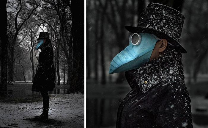 Masks - Pessoas mostram máscaras criativas para usar durante a pandemia