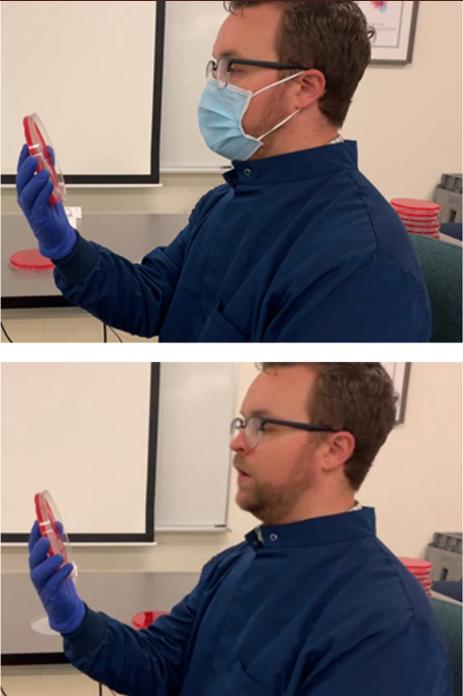 2020 07 01 2 1 - Cientista demonstra o efeito de usar uma máscara e o que acontece quando não se usa