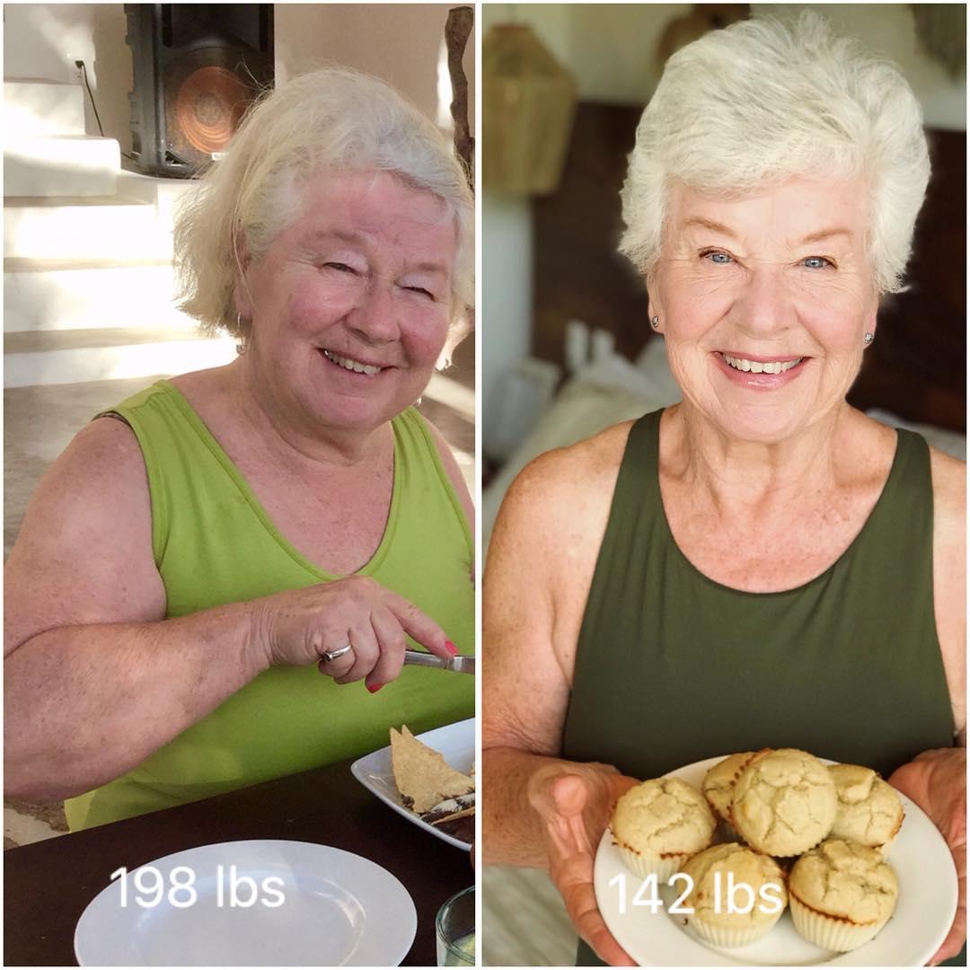 54446698 571158180054067 2275585318756998734 n - Mulher de 74 anos transforma seu corpo e o resultado é inspirador