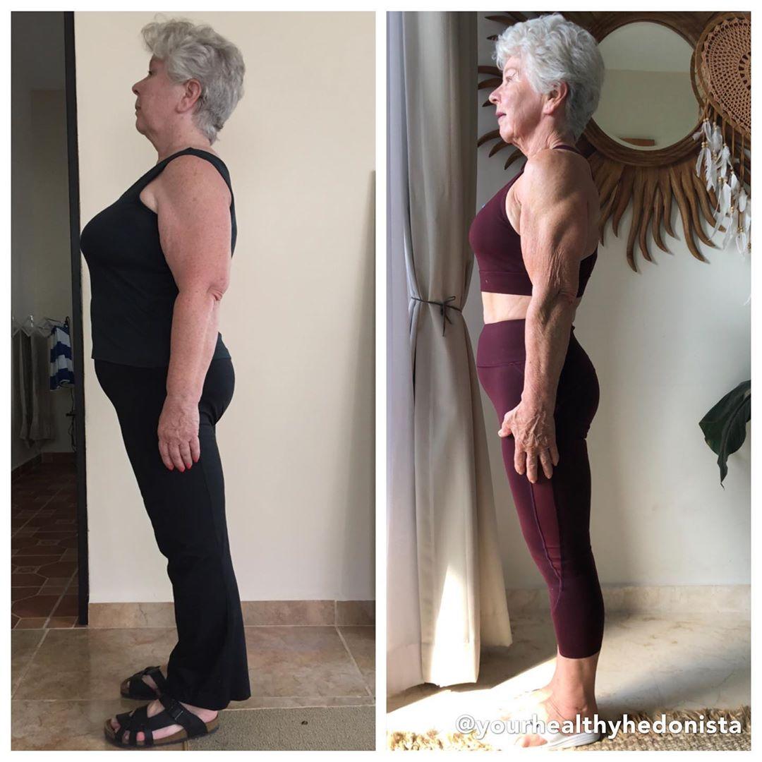 60378277 439059630205408 441112234818367606 n - Mulher de 74 anos transforma seu corpo e o resultado é inspirador