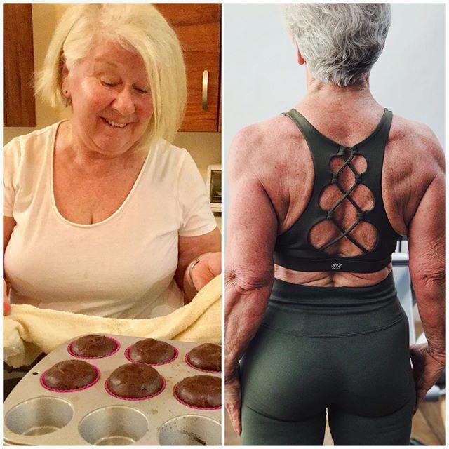 69318064 170585114109027 8513329414376389988 n - Mulher de 74 anos transforma seu corpo e o resultado é inspirador