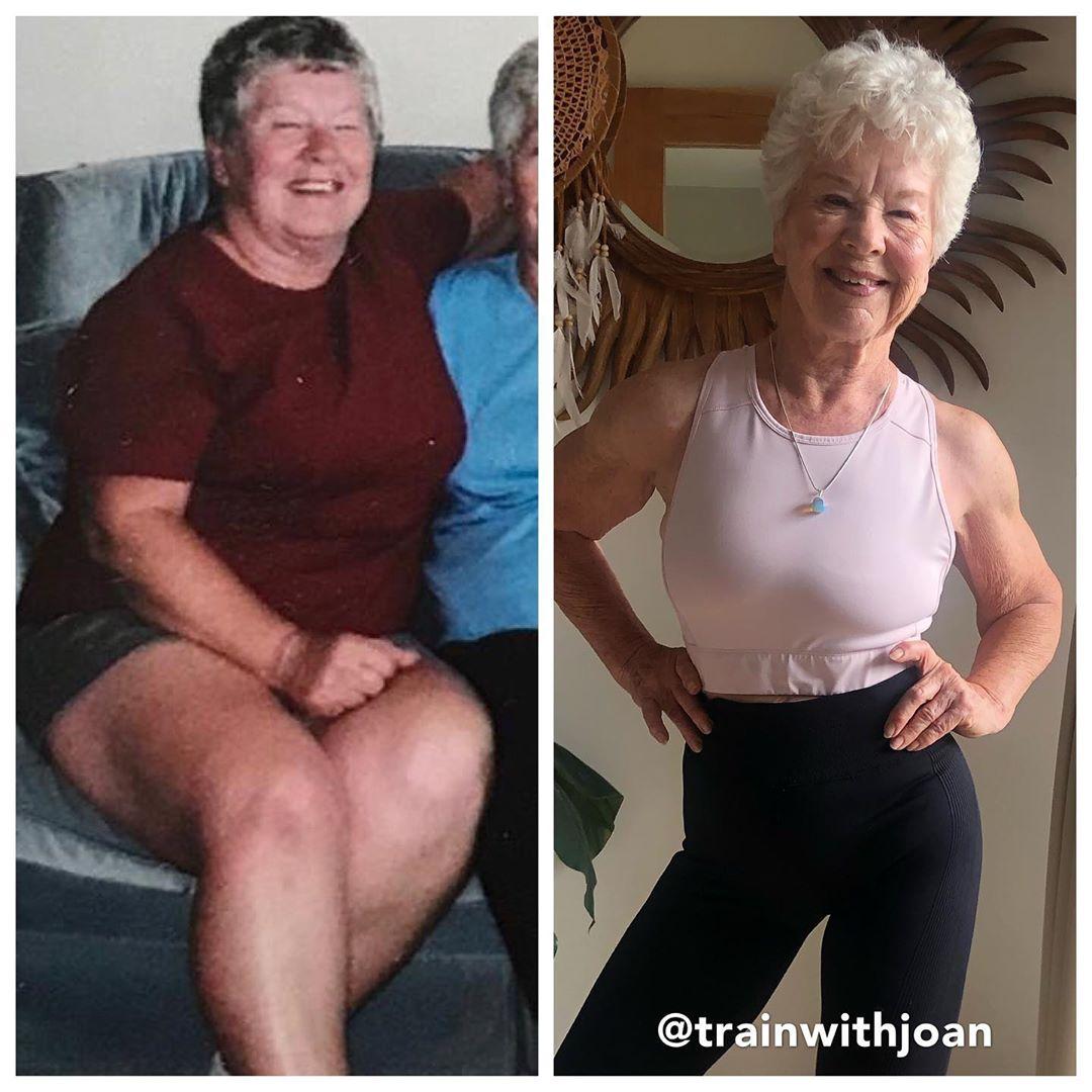 70039356 155846688820947 3280526419468365863 n1 - Mulher de 74 anos transforma seu corpo e o resultado é inspirador