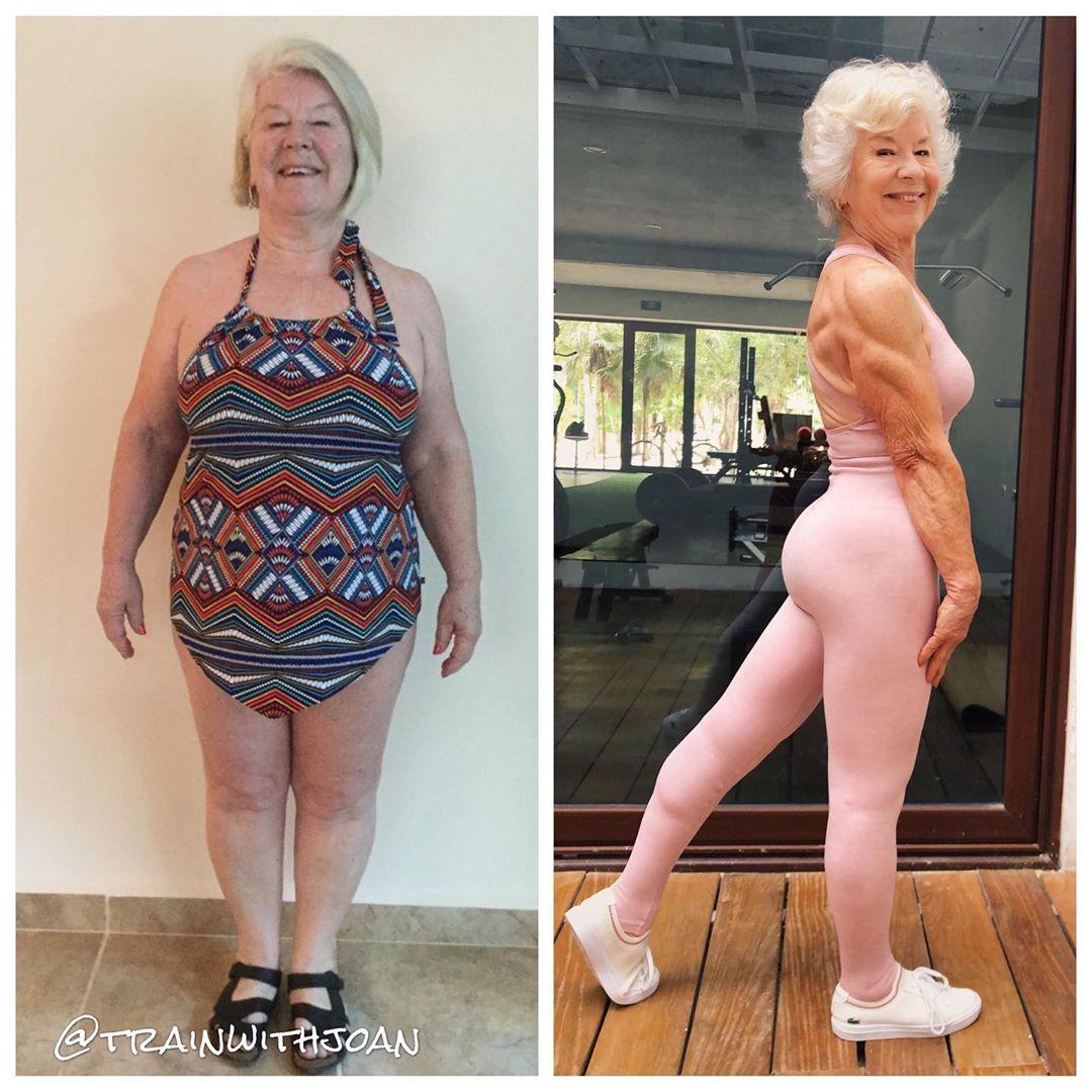 83812111 2806456122748640 6114020381662100010 n - Mulher de 74 anos transforma seu corpo e o resultado é inspirador