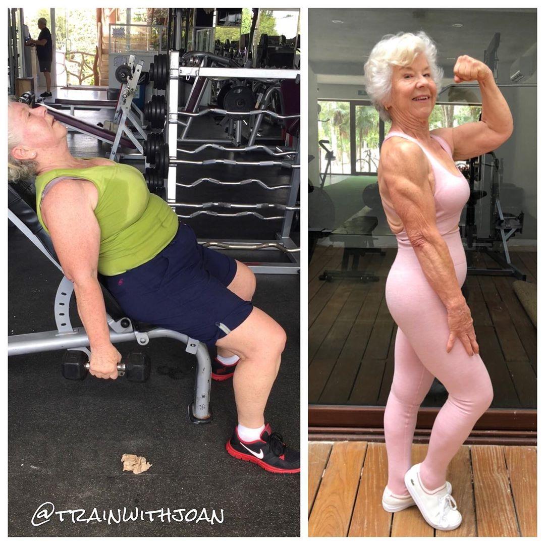 95220895 160871742016701 5431102308335469019 n1 - Mulher de 74 anos transforma seu corpo e o resultado é inspirador
