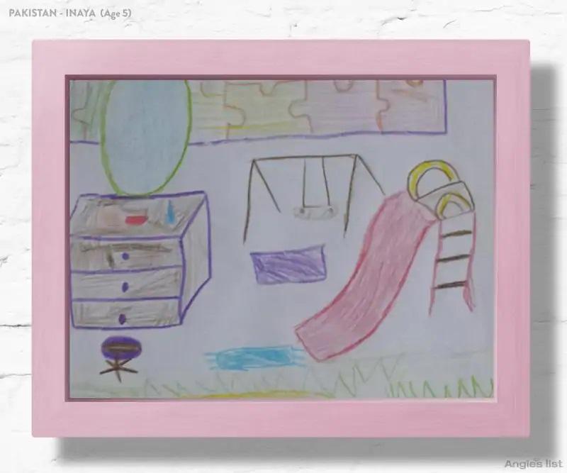 01a Pakistan dream kids bedroom Drawing - Designers projetam quartos dos sonhos imaginados por crianças ao redor do mundo
