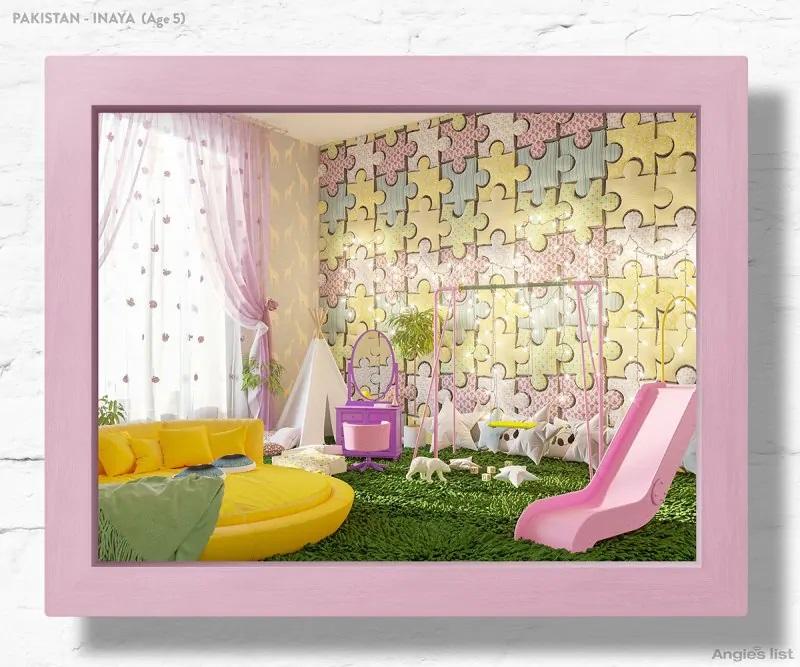 01b Pakistan dream kids bedroom 3D - Designers projetam quartos dos sonhos imaginados por crianças ao redor do mundo