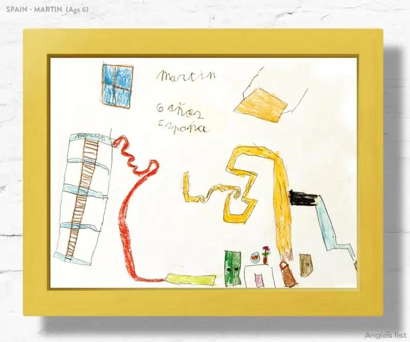 02a Spain dream kids bedroom Drawing - Designers projetam quartos dos sonhos imaginados por crianças ao redor do mundo