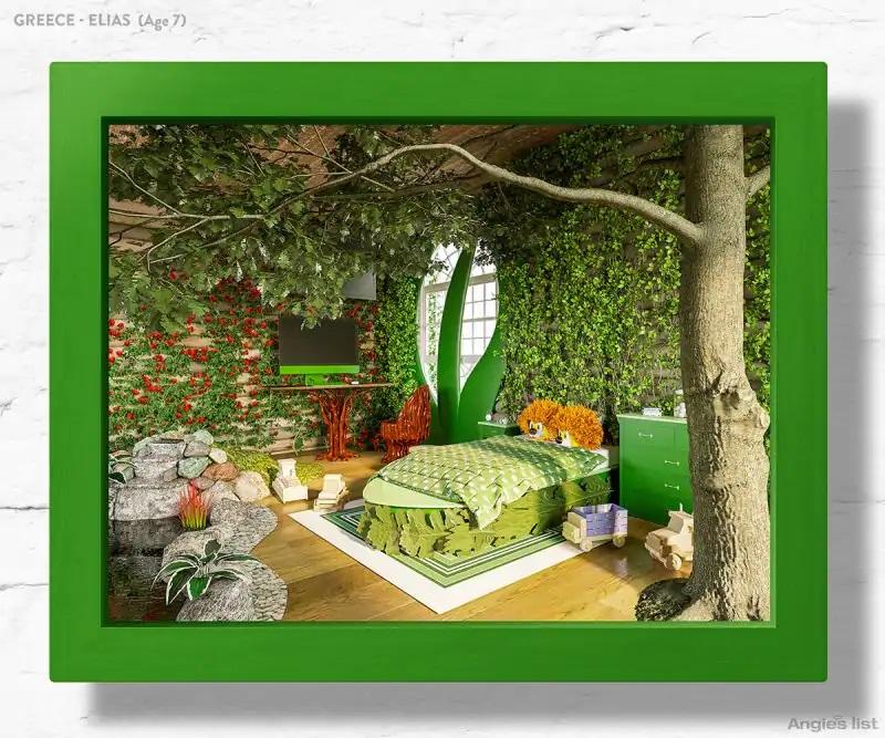 04b Greece dream kids bedroom 3D - Designers projetam quartos dos sonhos imaginados por crianças ao redor do mundo