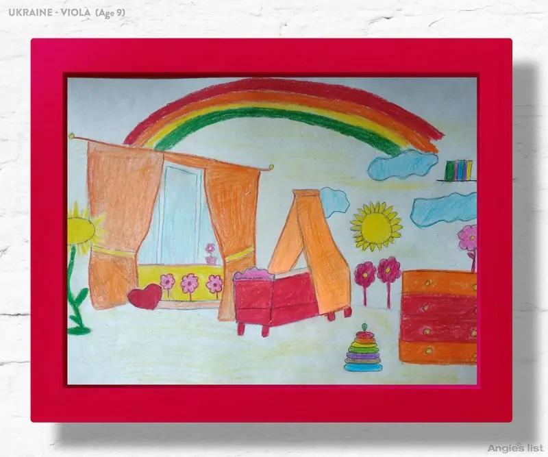 05a Ukraine dream kids bedroom Drawing - Designers projetam quartos dos sonhos imaginados por crianças ao redor do mundo