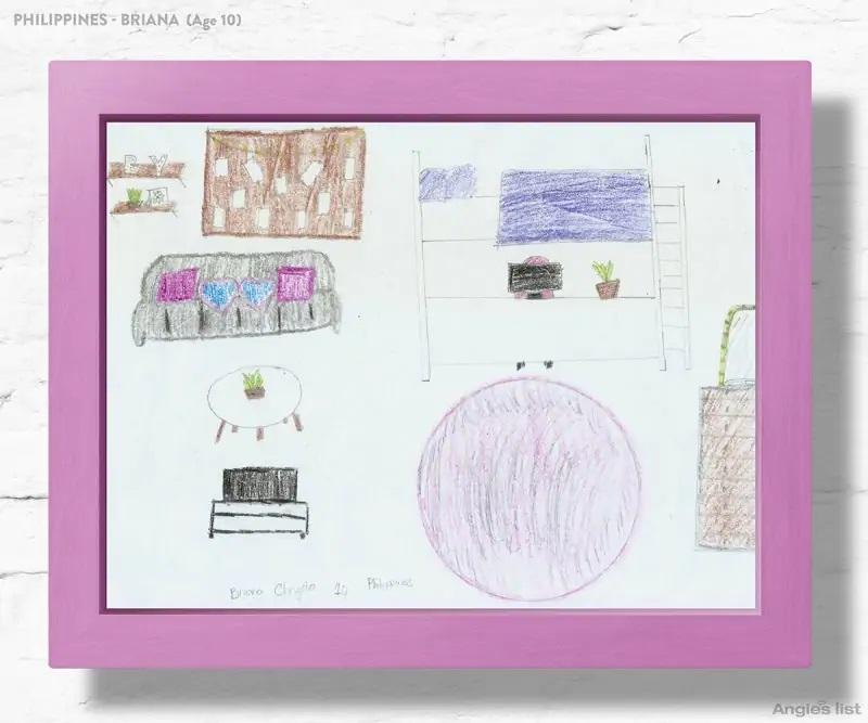 07a Philippines dream kids bedroom Drawing - Designers projetam quartos dos sonhos imaginados por crianças ao redor do mundo