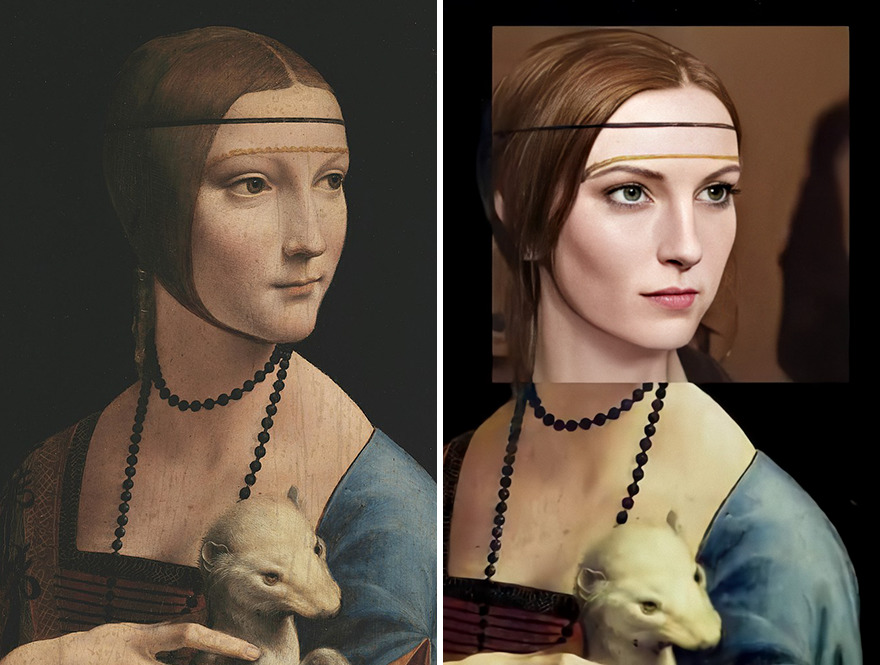 This digital artist brought to life the characters of 7 famous paintings using a neural network 5f0424770cf3e png 880 - Artista cria rostos realistas a partir de pessoas de 7 pinturas famosas