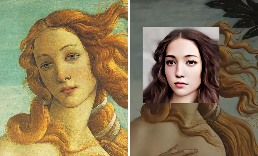 This digital artist brought to life the characters of 7 famous paintings using a neural network 5f0436a9e024a png 880 - Artista cria rostos realistas a partir de pessoas de 7 pinturas famosas