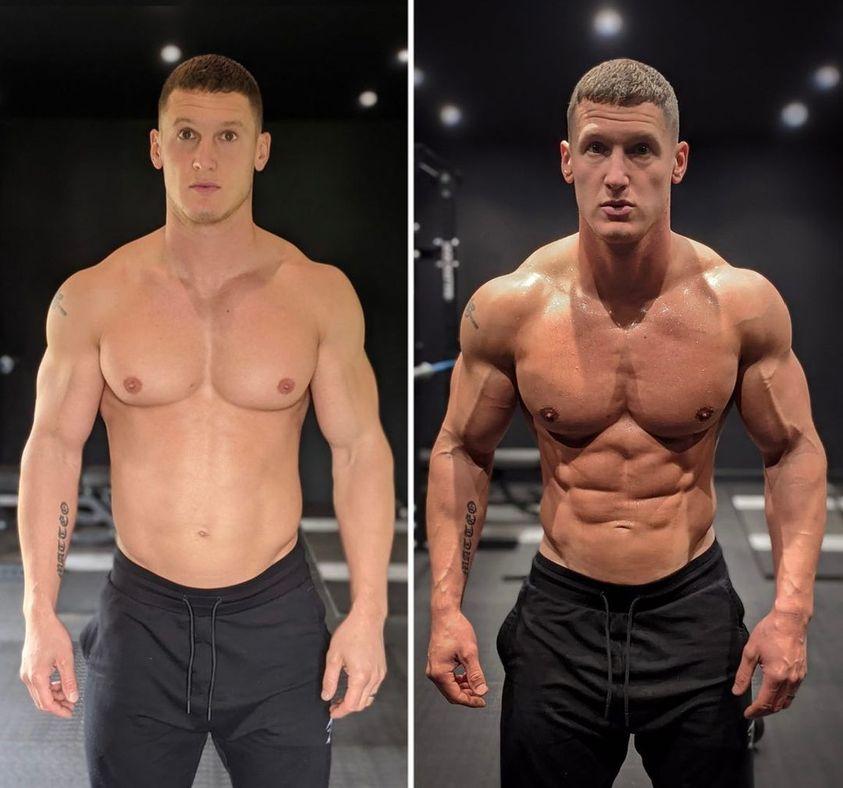mattdoesfitness - Vídeo mostra como fotos com um corpo incrível podem ser totalmente enganosas