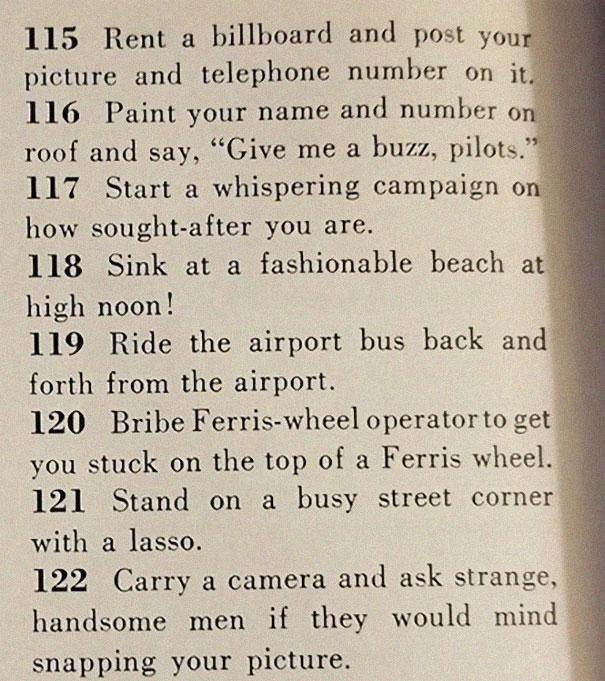 15image 5be14ed67c00c 605 - Artigo de 1958 com '129 MANEIRAS DE CONSEGUIR UM MARIDO' mostra o quanto o mundo mudou
