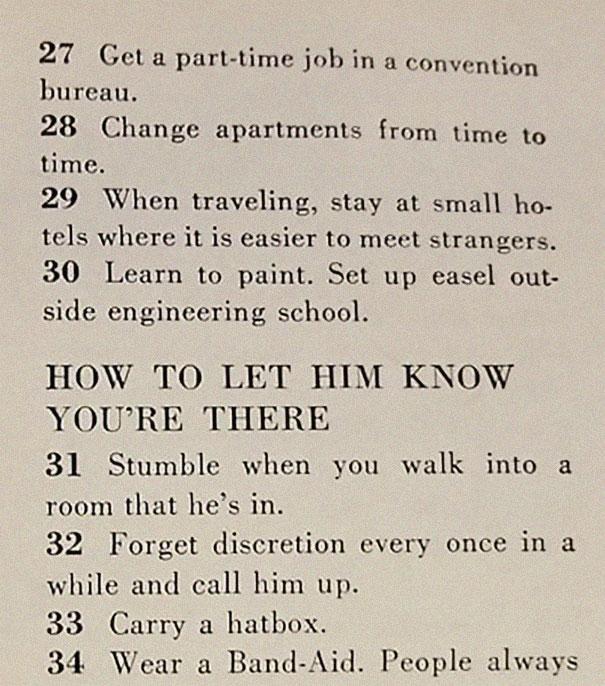 3image 5be14ebdb52f3 605 - Artigo de 1958 com '129 MANEIRAS DE CONSEGUIR UM MARIDO' mostra o quanto o mundo mudou