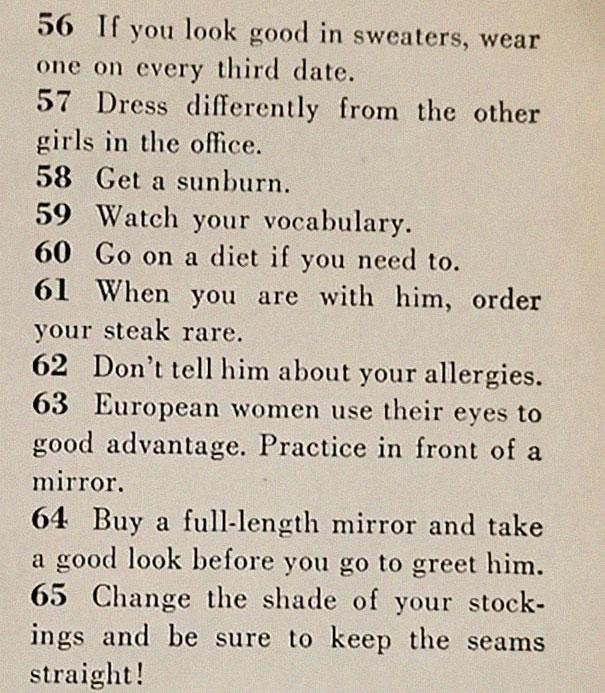 how to get men 1950s dating article magazine mccalls 5be153e91cb96  605 - Artigo de 1958 com '129 MANEIRAS DE CONSEGUIR UM MARIDO' mostra o quanto o mundo mudou