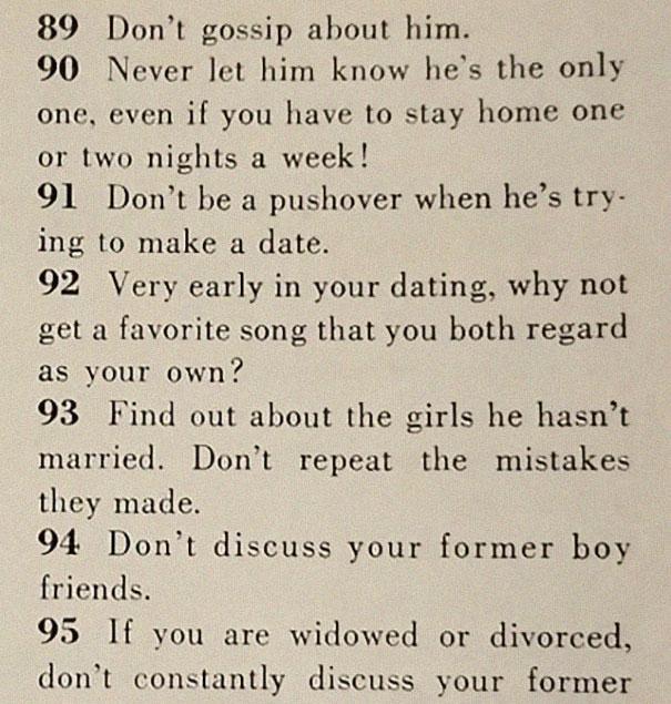 how to get men 1950s dating article magazine mccalls 5be1544ab708a  605 - Artigo de 1958 com '129 MANEIRAS DE CONSEGUIR UM MARIDO' mostra o quanto o mundo mudou