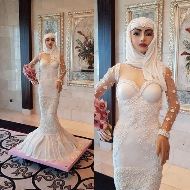 e assim um bolo de casamento de 1 milhao de dolares em dubai - É assim um bolo de casamento de 1 milhão de dólares em Dubai