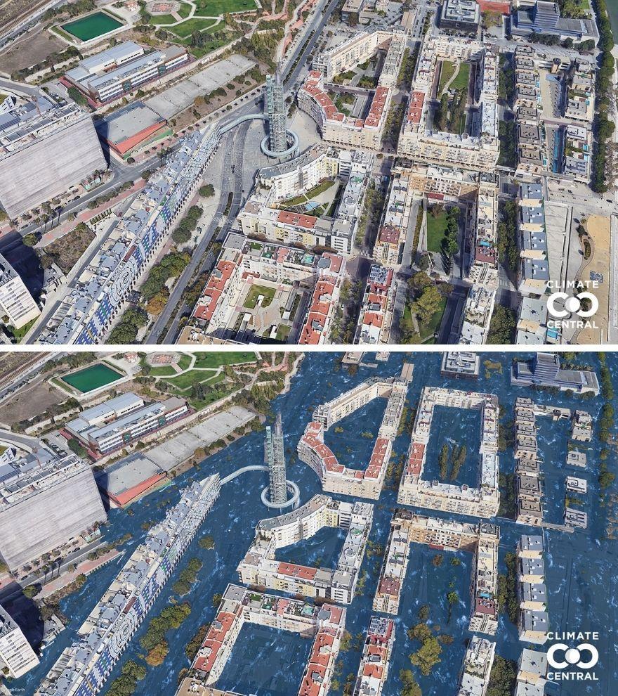 Lisbon - Pesquisadores preveem como será o mundo em 2050 se a temperatura subir 3 °C